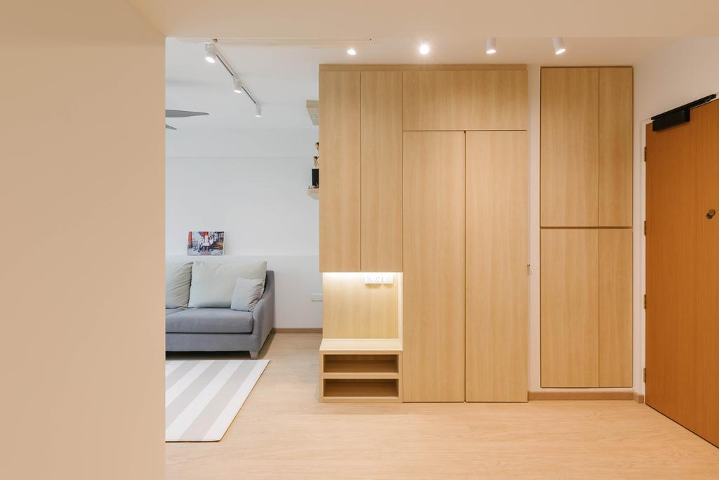 Scandinavian, HDB, Living Room, Canberra Walk, Interior Designer, Style Living Interior