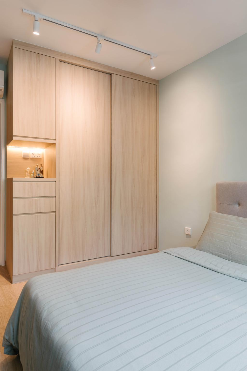 Scandinavian, HDB, Bedroom, Canberra Walk, Interior Designer, Style Living Interior