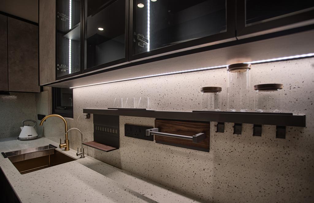 Modern, Condo, Kitchen, 28 Boulevard, Pandan Perdana, Interior Designer, Wo Design Studio