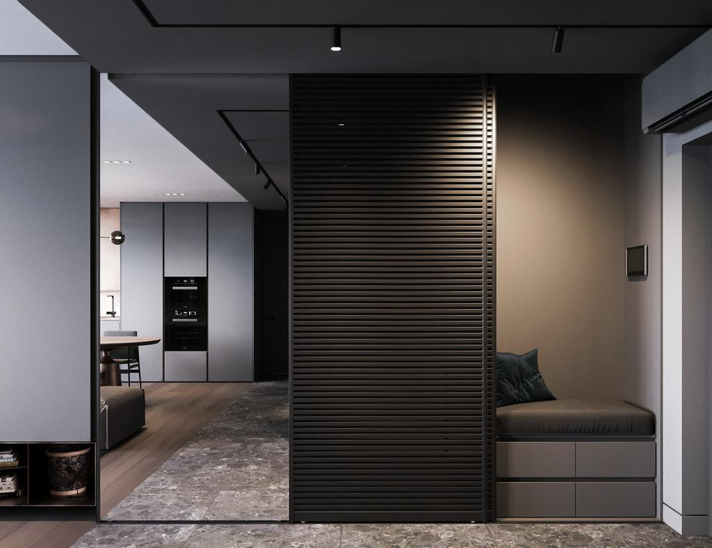 Modern, Condo, Hamsphire Park, KLCC, Interior Designer, Wo Design Studio