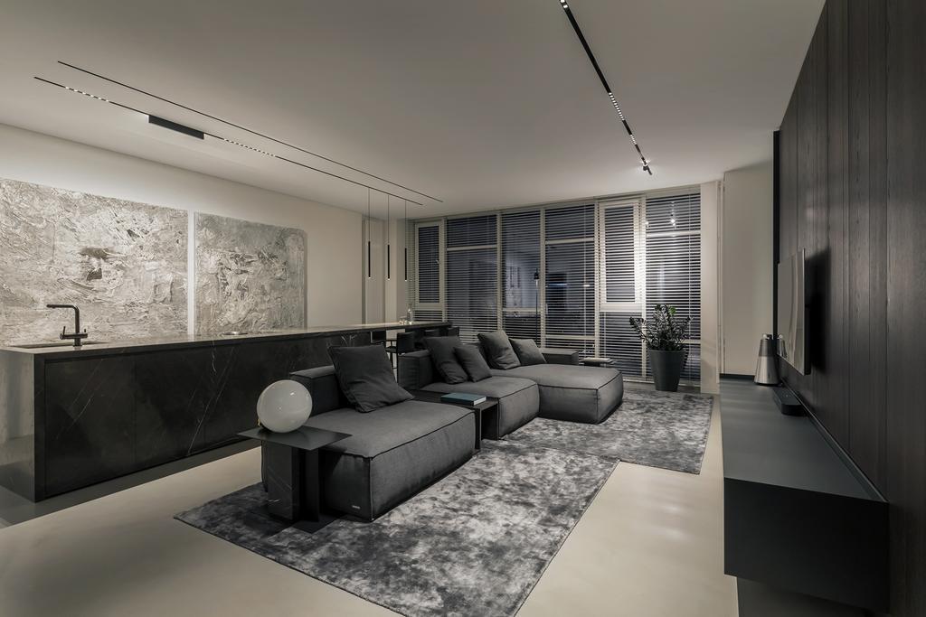 Modern, Condo, Living Room, Pavilion Hilltop, Kuala Lumpur, Interior Designer, Wo Design Studio