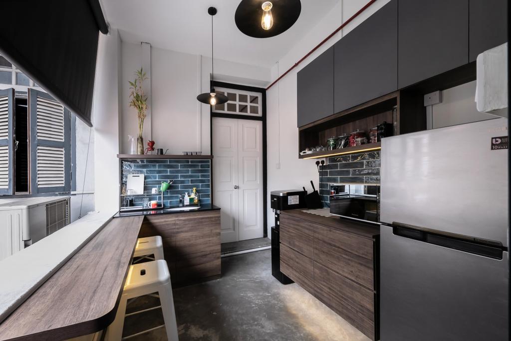 Ann Siang Road, Commercial, Interior Designer, Space Atelier, Industrial, Scandinavian