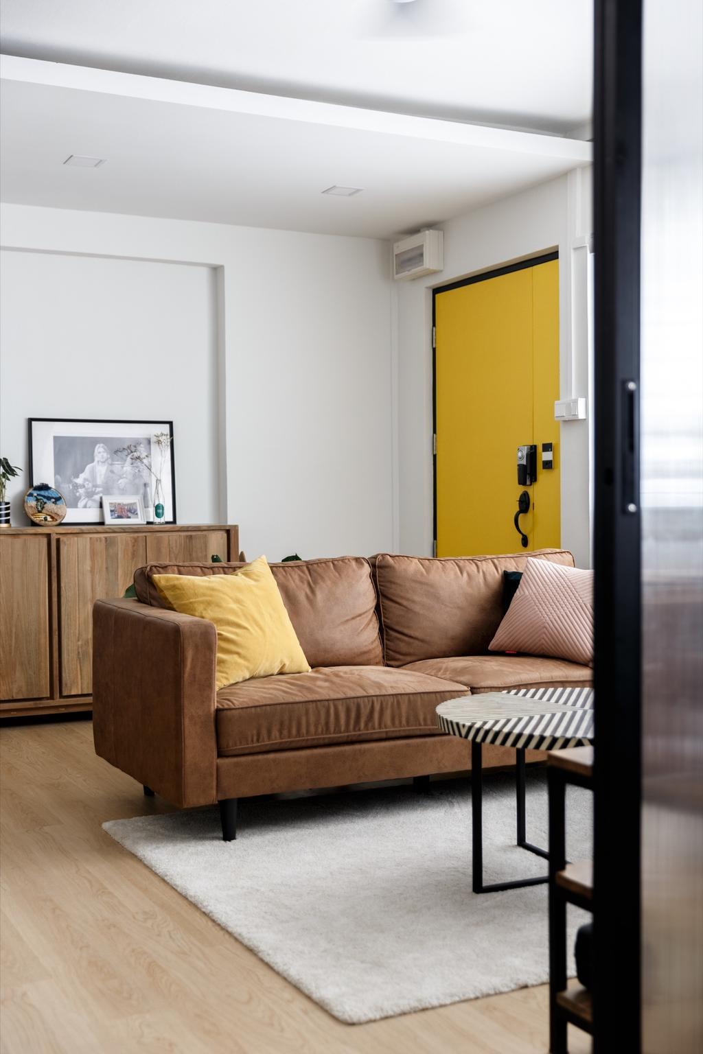 Vintage, HDB, Living Room, Cassia Crescent, Interior Designer, The Local INN.terior 新家室, Contemporary