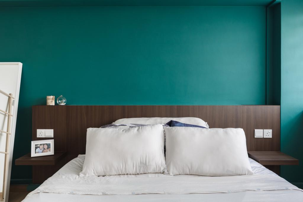 Vintage, HDB, Bedroom, Cassia Crescent, Interior Designer, The Local INN.terior 新家室, Contemporary