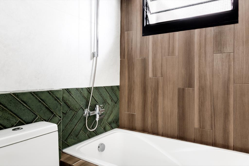 Vintage, HDB, Bathroom, Cassia Crescent, Interior Designer, The Local INN.terior 新家室, Contemporary