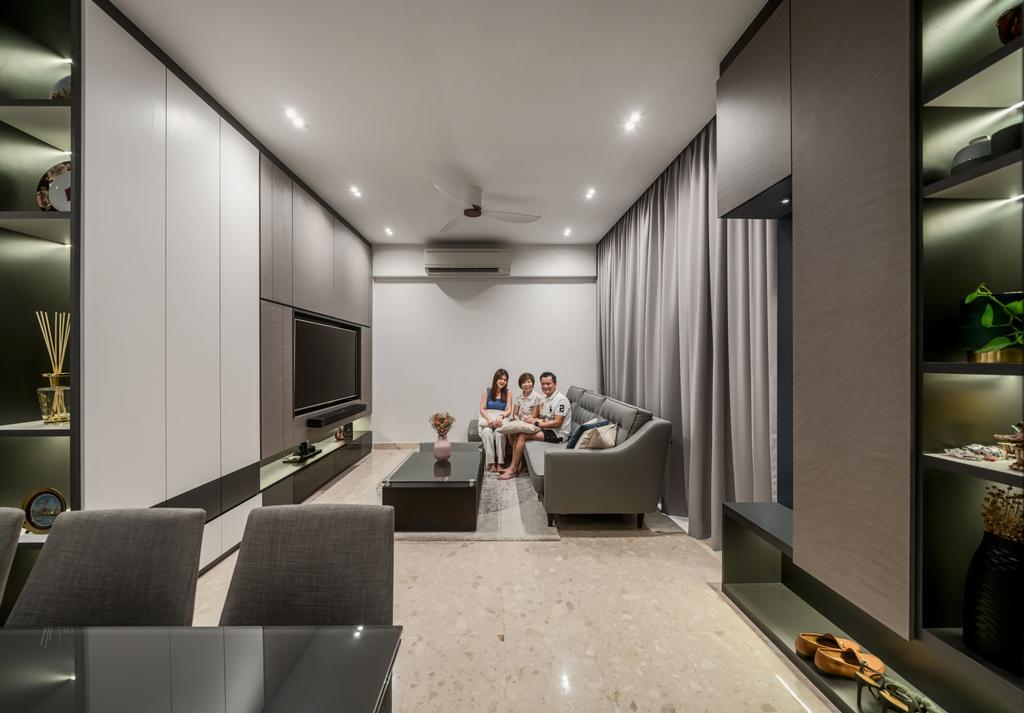 Modern, Condo, Living Room, Jansen 28, Interior Designer, Weiken.com, Contemporary