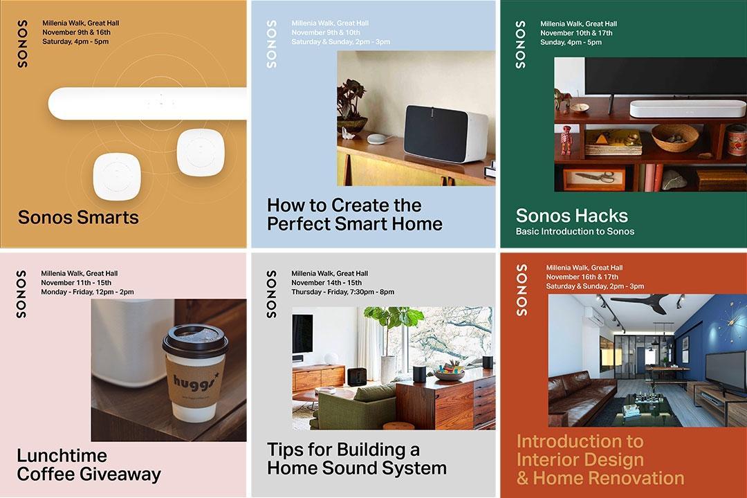 Sonos Smart Sound System Workshop Qanvast