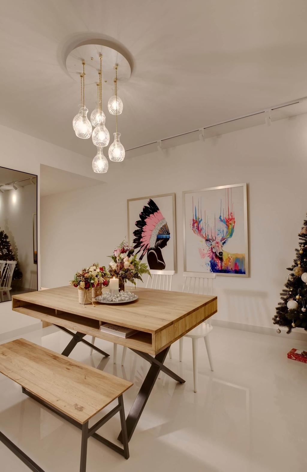 Contemporary, Condo, Dining Room, Parc Olympia, Interior Designer, Space Factor