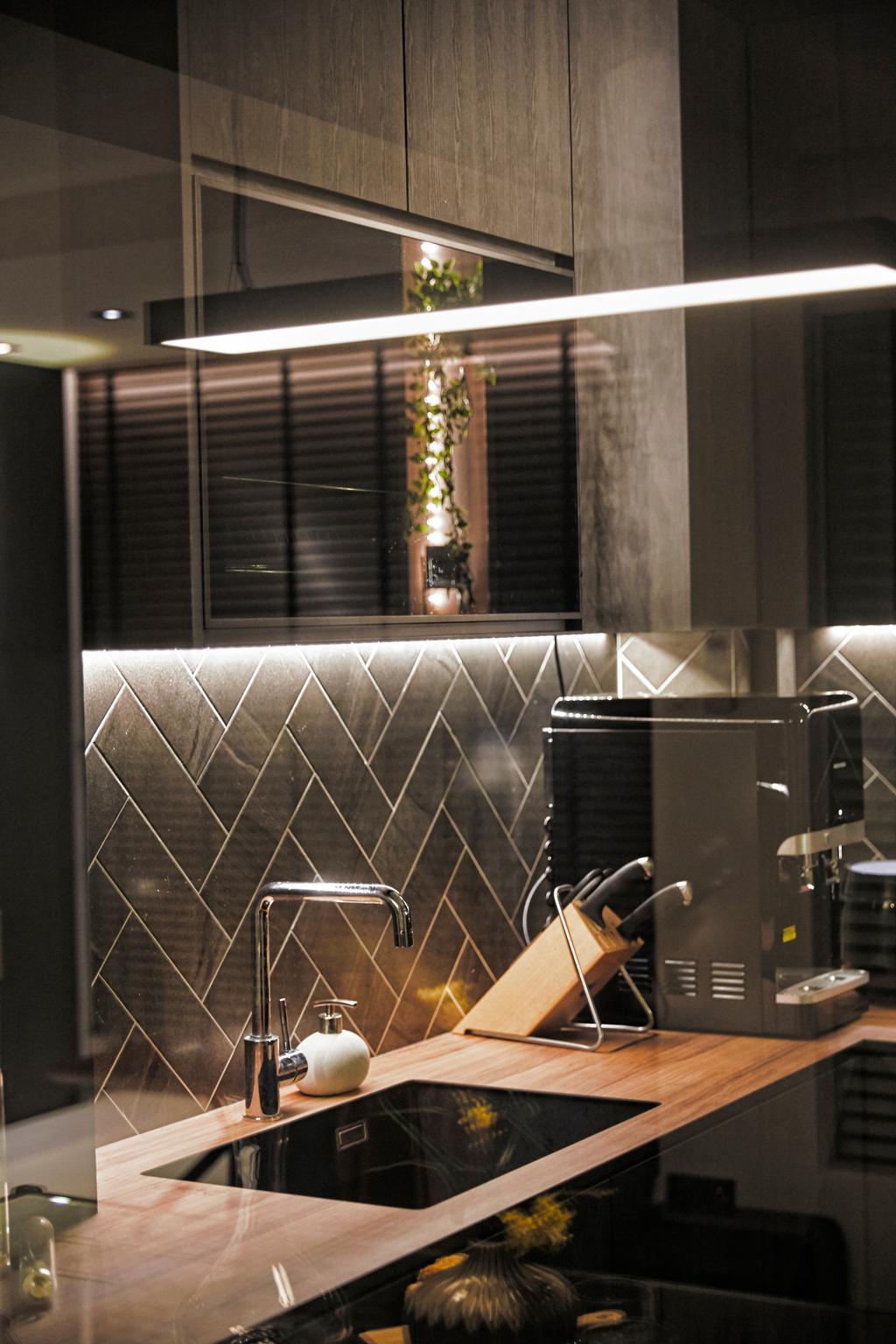 Contemporary, HDB, Kitchen, Jurong West Street 61, Interior Designer, SHE Interior