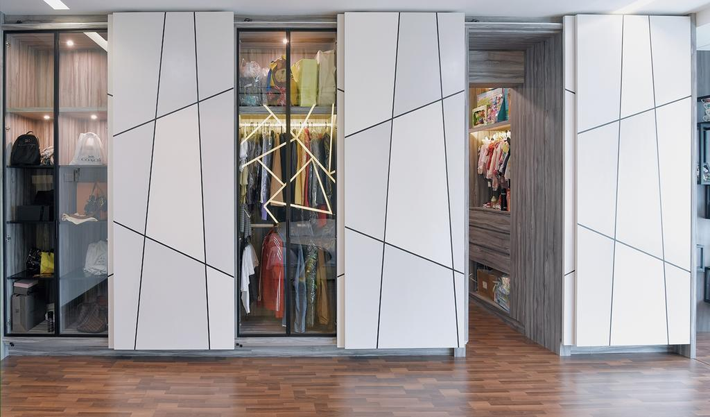 Modern, Landed, Laman Villa Residence, Klang, Interior Designer, The Grid Studio, Contemporary