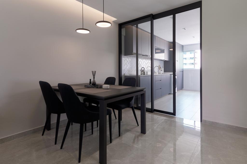 Modern, HDB, Dining Room, Serangoon Central, Interior Designer, SHE Interior, Minimalistic