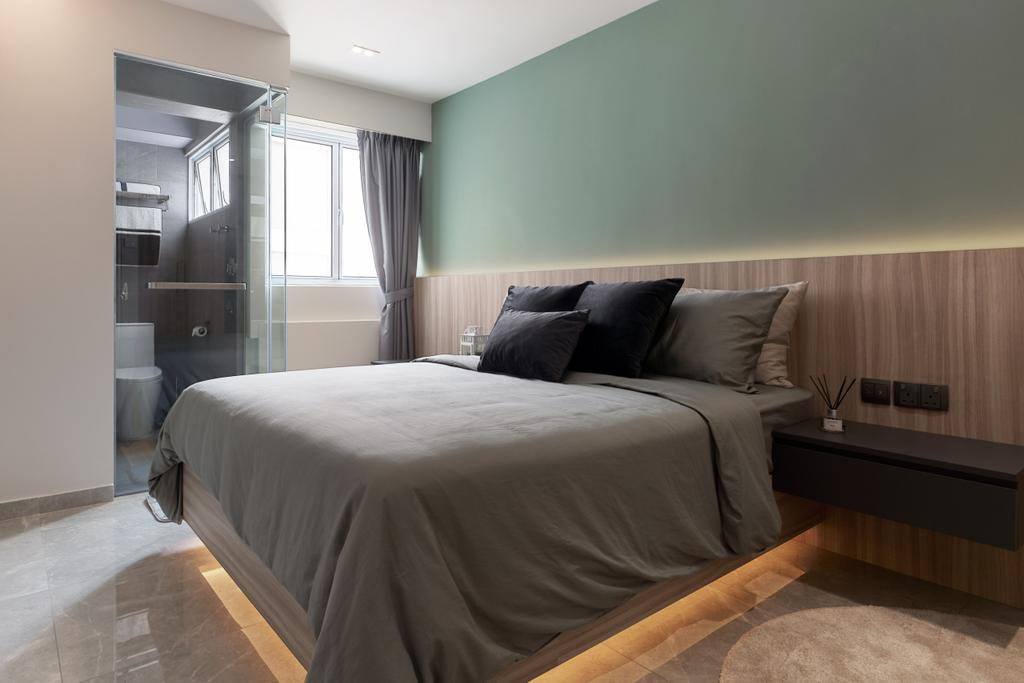 Modern, HDB, Bedroom, Serangoon Central, Interior Designer, SHE Interior, Minimalistic