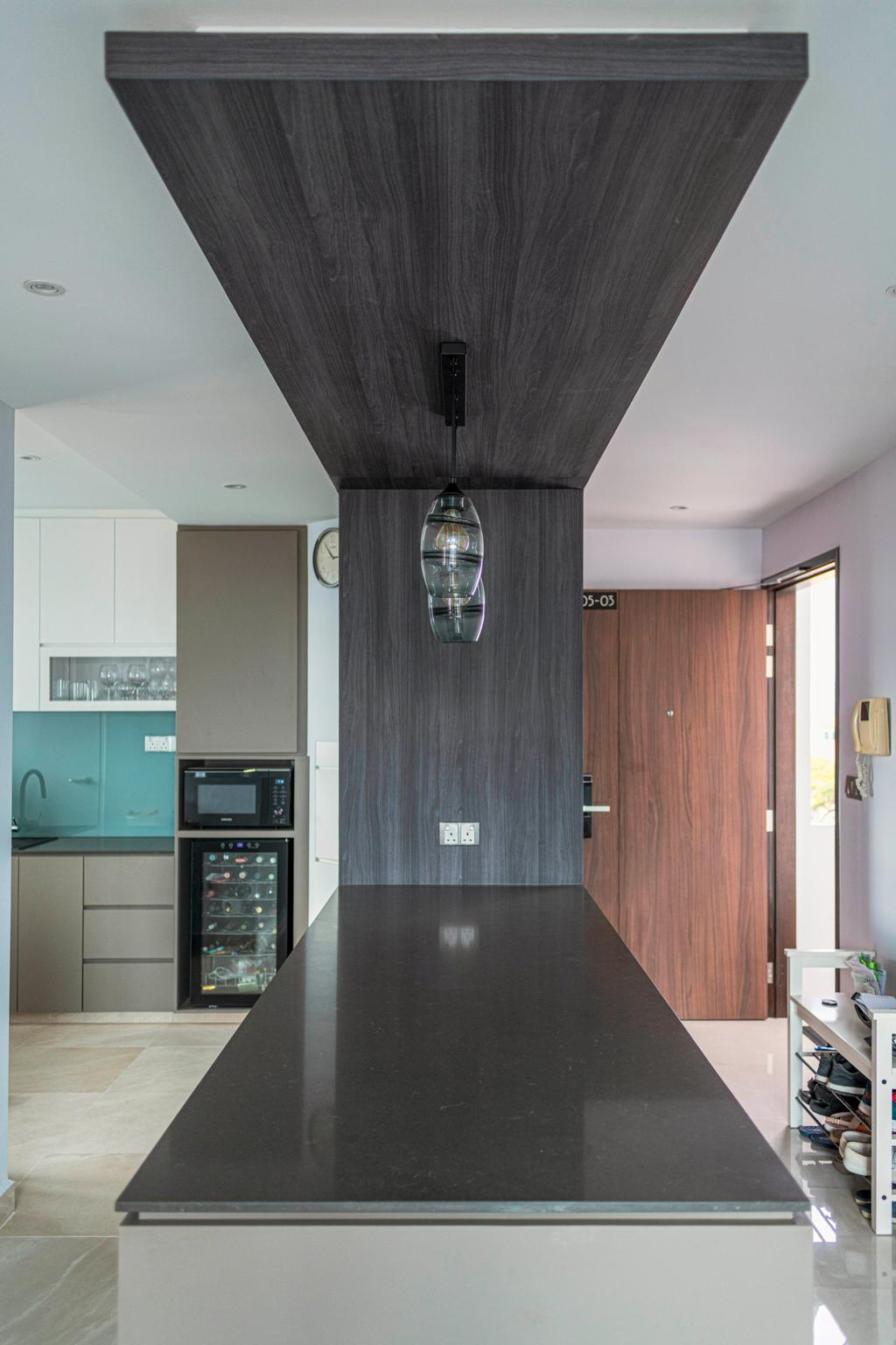 Contemporary, Condo, Kitchen, Tembeling Court, Interior Designer, ARK-hitecture