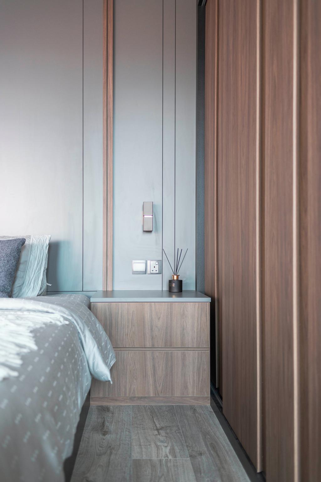 Contemporary, Condo, Bedroom, Tembeling Court, Interior Designer, ARK-hitecture