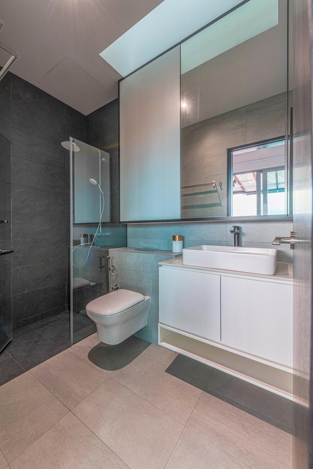 Contemporary, Condo, Bathroom, Tembeling Court, Interior Designer, ARK-hitecture