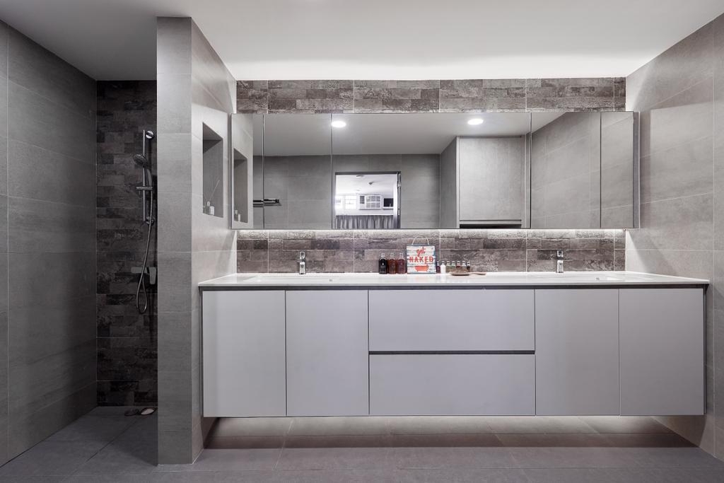 Contemporary, Condo, Bathroom, The Plaza, Interior Designer, INCLOVER DESIGN