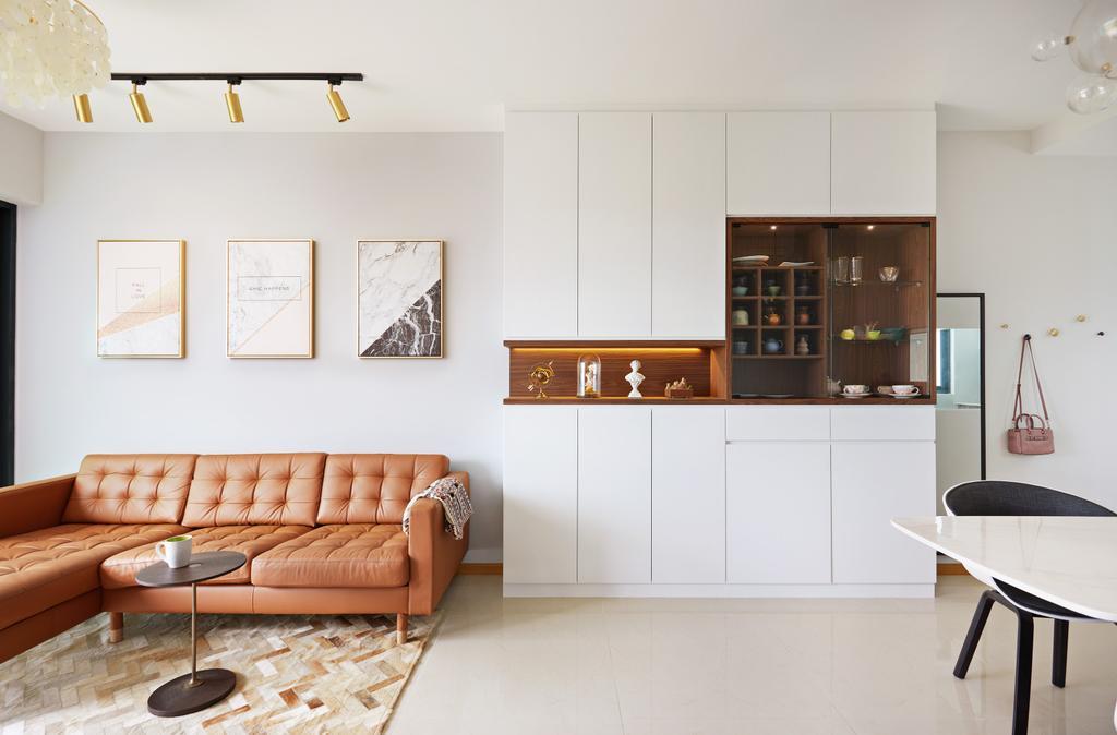 Contemporary, Condo, Kingsford Waterbay, Interior Designer, Design 4 Space, Modern