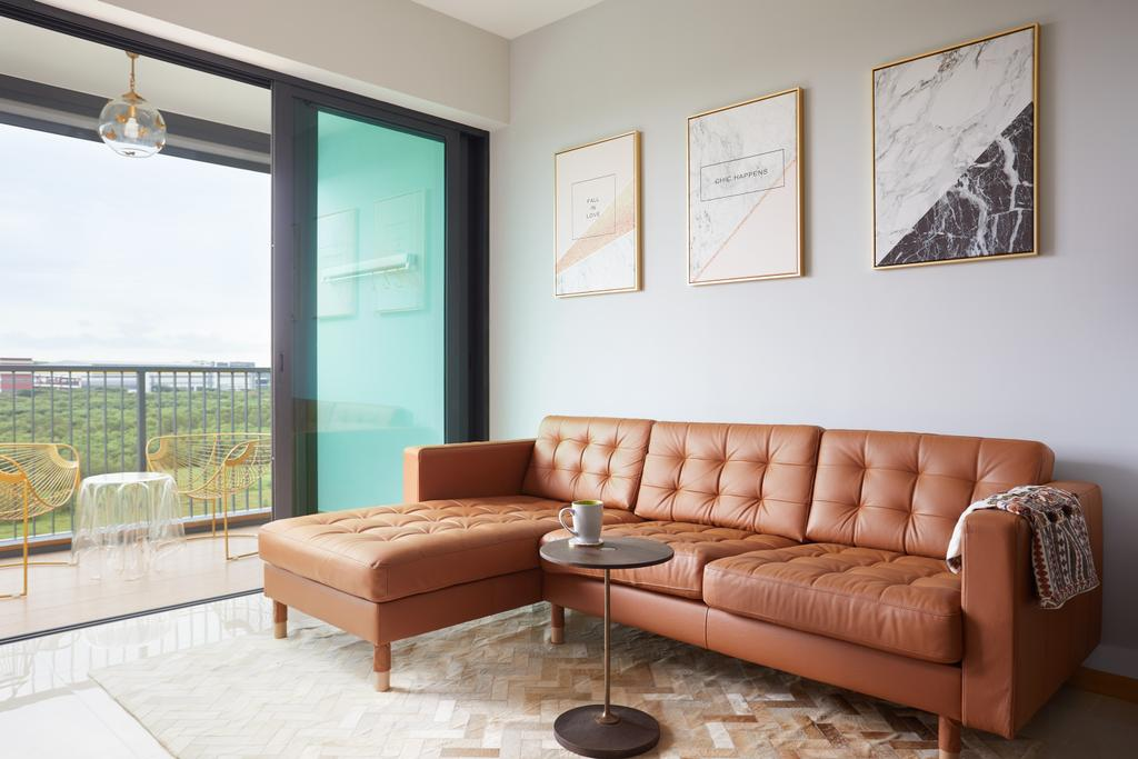 Contemporary, Condo, Living Room, Kingsford Waterbay, Interior Designer, Design 4 Space, Modern