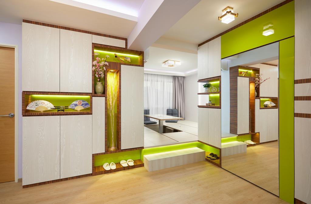 Contemporary, HDB, Woodlands Rise, Interior Designer, Design 4 Space