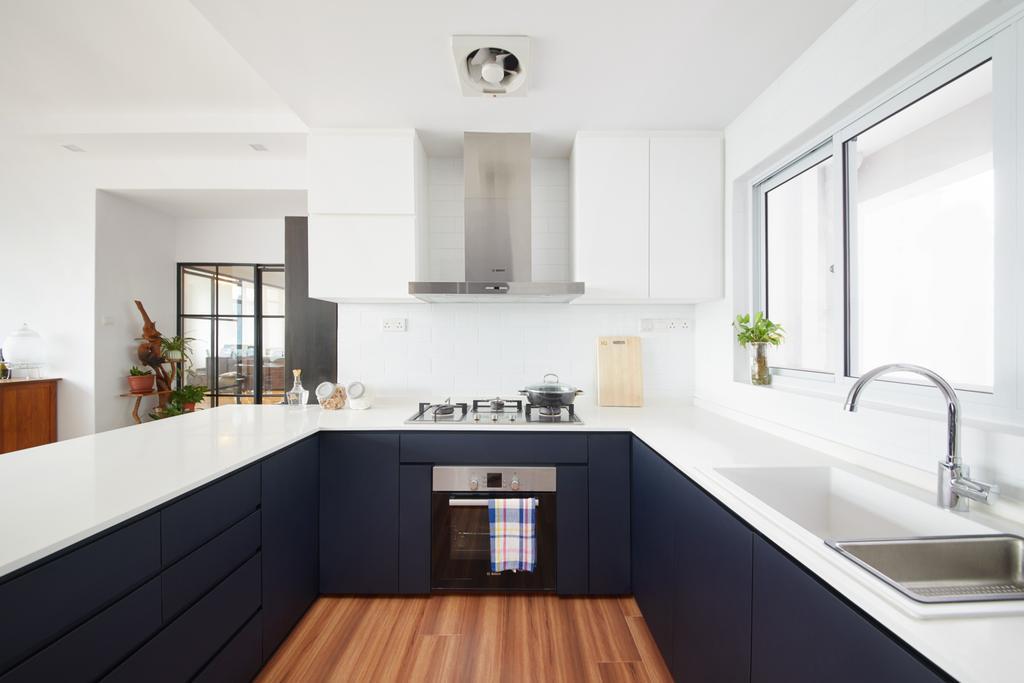 Contemporary, Condo, Kitchen, Merawoods, Interior Designer, Design 4 Space