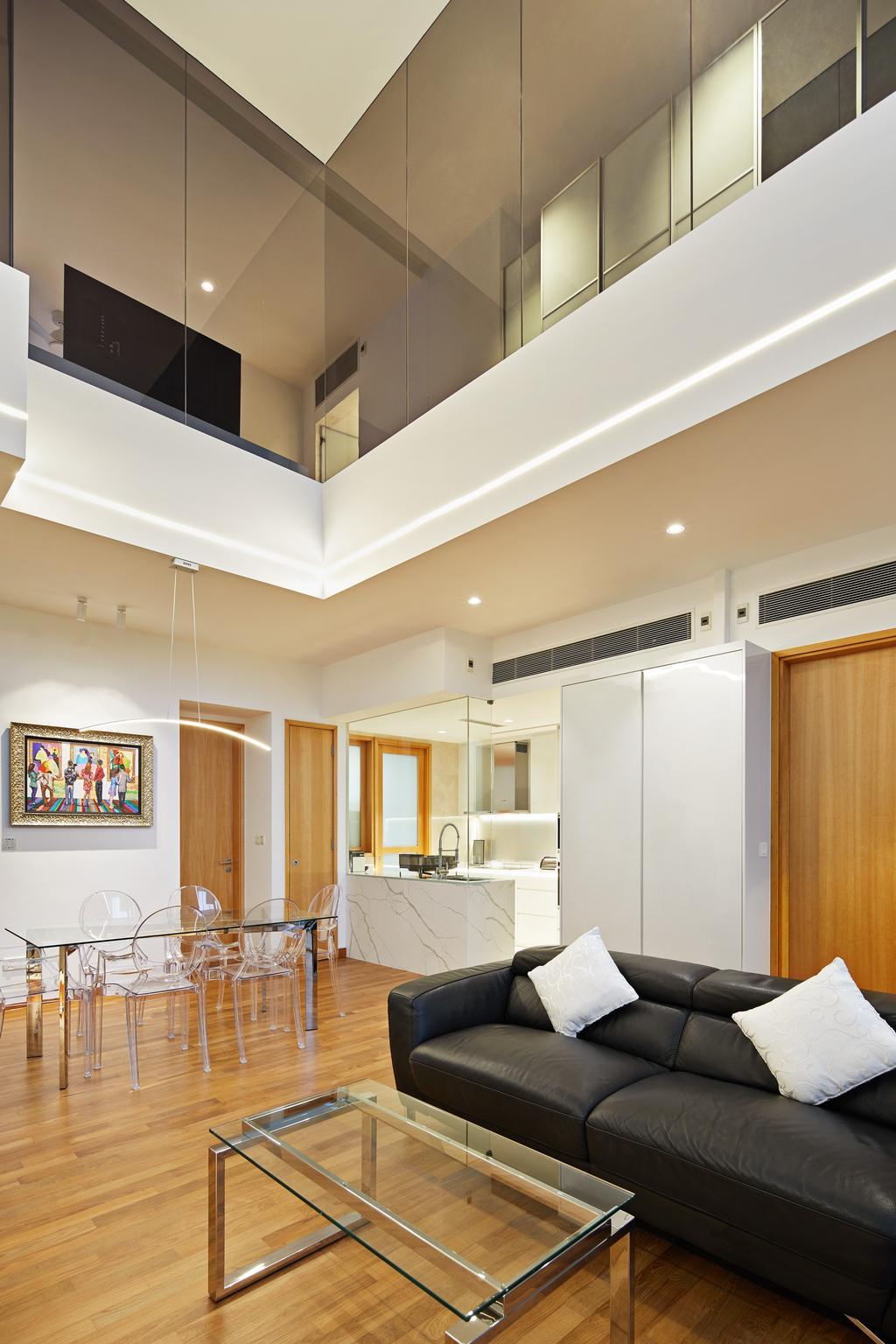 Contemporary, Condo, Living Room, Draycott Eight, Interior Designer, Design 4 Space