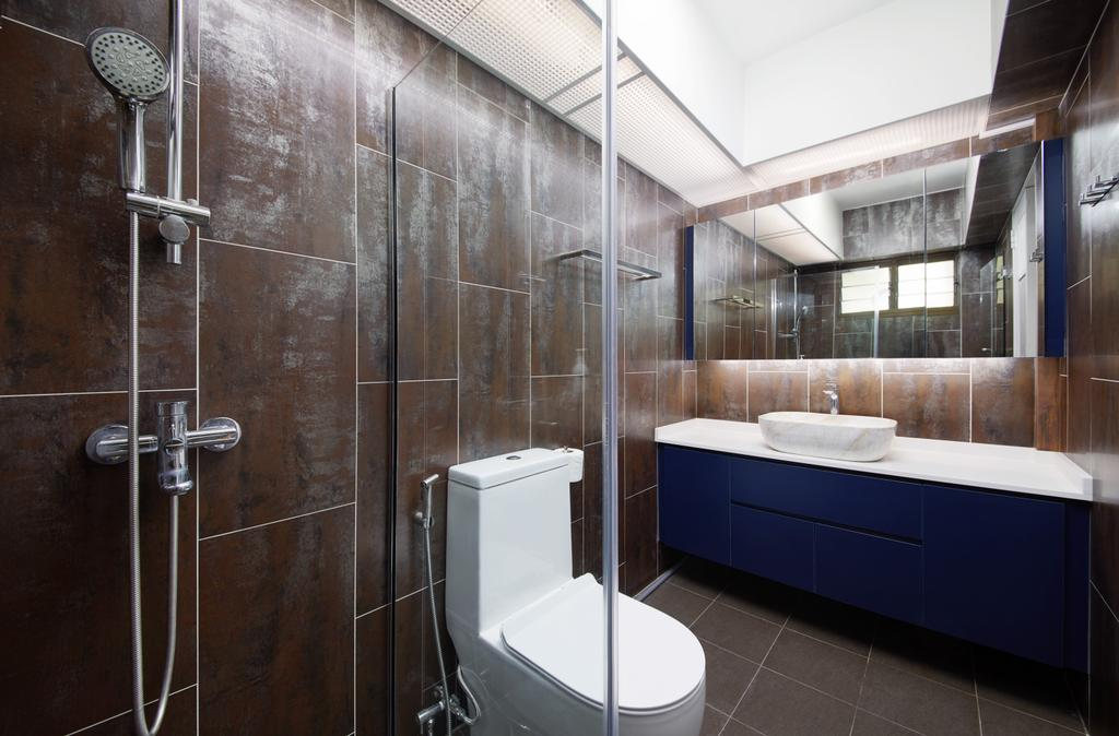 Modern, HDB, Bathroom, Jurong West Central 1, Interior Designer, Design 4 Space