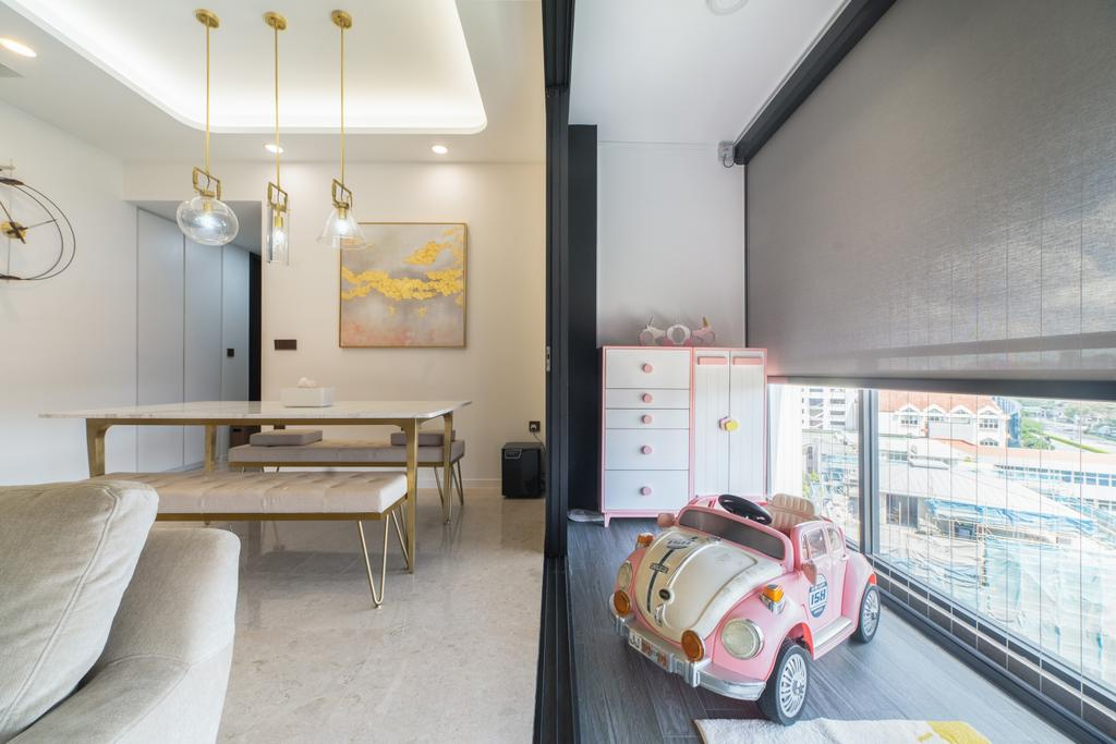Contemporary, Condo, Balcony, Botanique at Bartley, Interior Designer, Design 4 Space