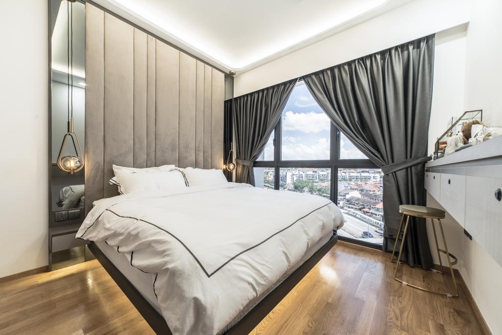 Contemporary, Condo, Bedroom, Botanique at Bartley, Interior Designer, Design 4 Space