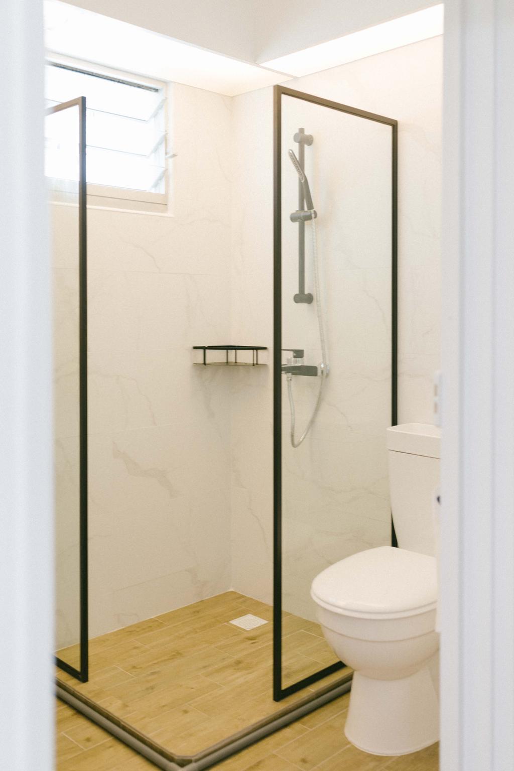 Contemporary, HDB, Bathroom, Circuit Road, Interior Designer, Ideal Design Interior, Scandinavian