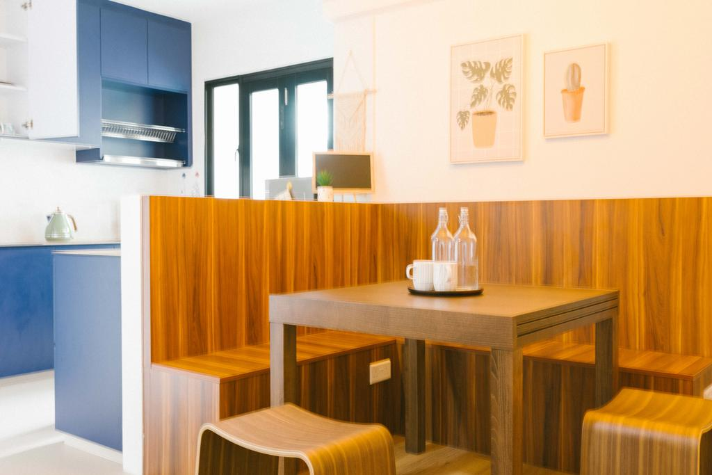 Contemporary, HDB, Dining Room, Circuit Road, Interior Designer, Ideal Design Interior, Scandinavian
