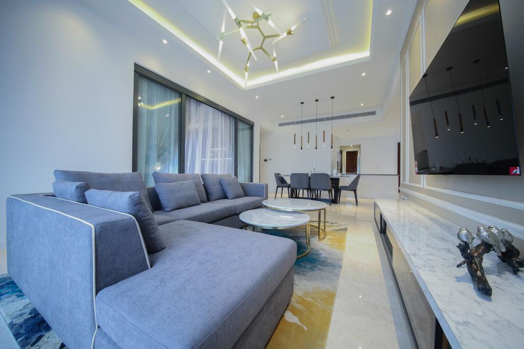 Modern, Condo, Living Room, Astaka, Johor Bahru, Interior Designer, Muse Design Group Sdn Bhd