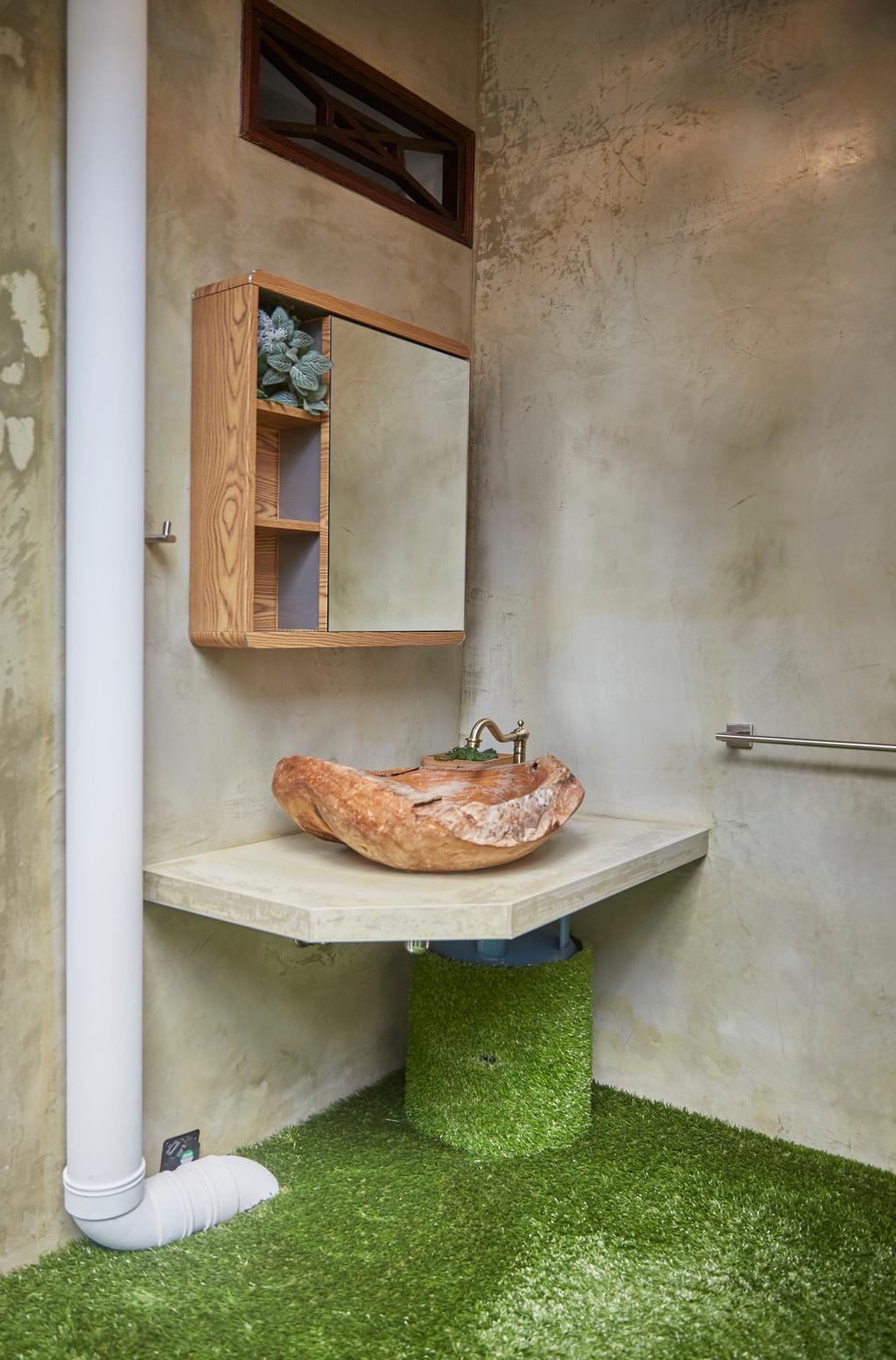 Contemporary, Landed, Bathroom, Shrewsburry Road, Interior Designer, LS2 Design & Construction