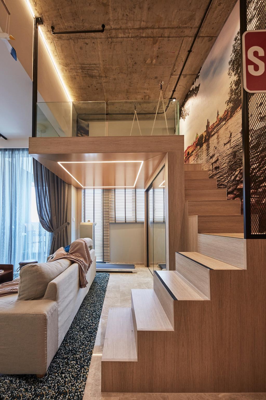 Contemporary, Condo, City Gate, Interior Designer, LS2 Design & Construction