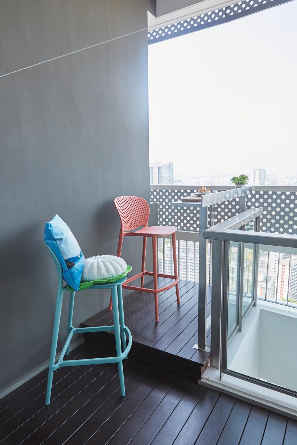 Contemporary, Condo, Balcony, City Gate, Interior Designer, LS2 Design & Construction