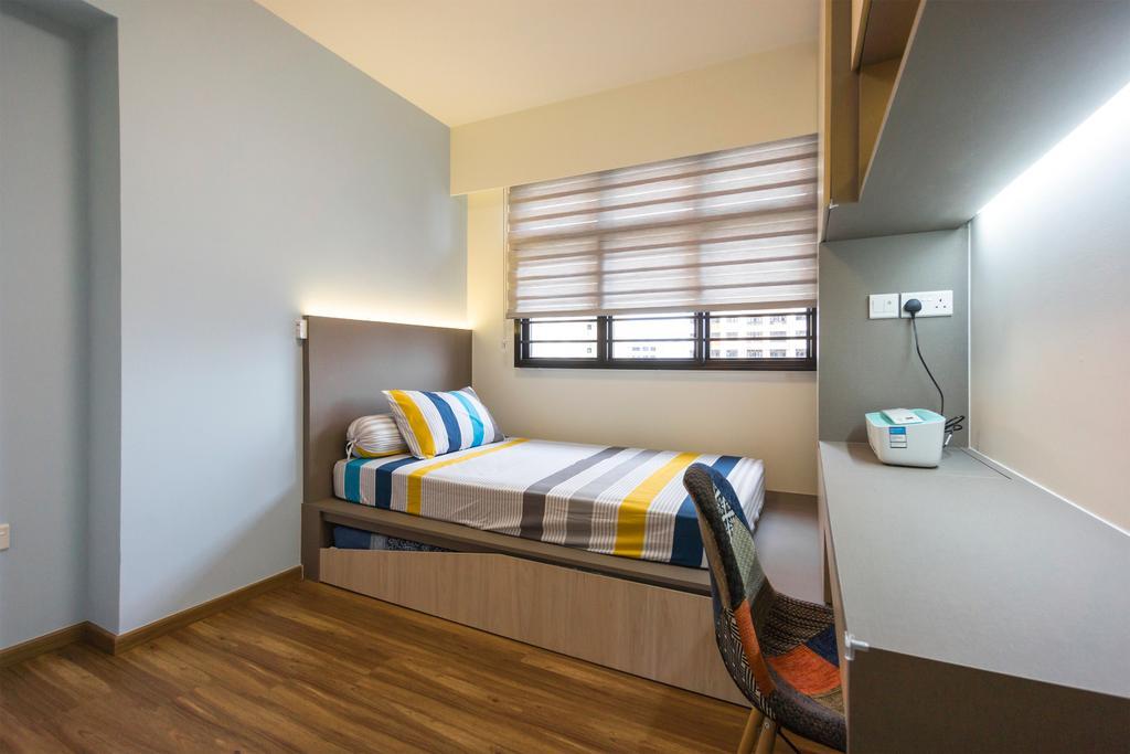 Modern, HDB, Bedroom, Toa Payoh East, Interior Designer, Flo Design