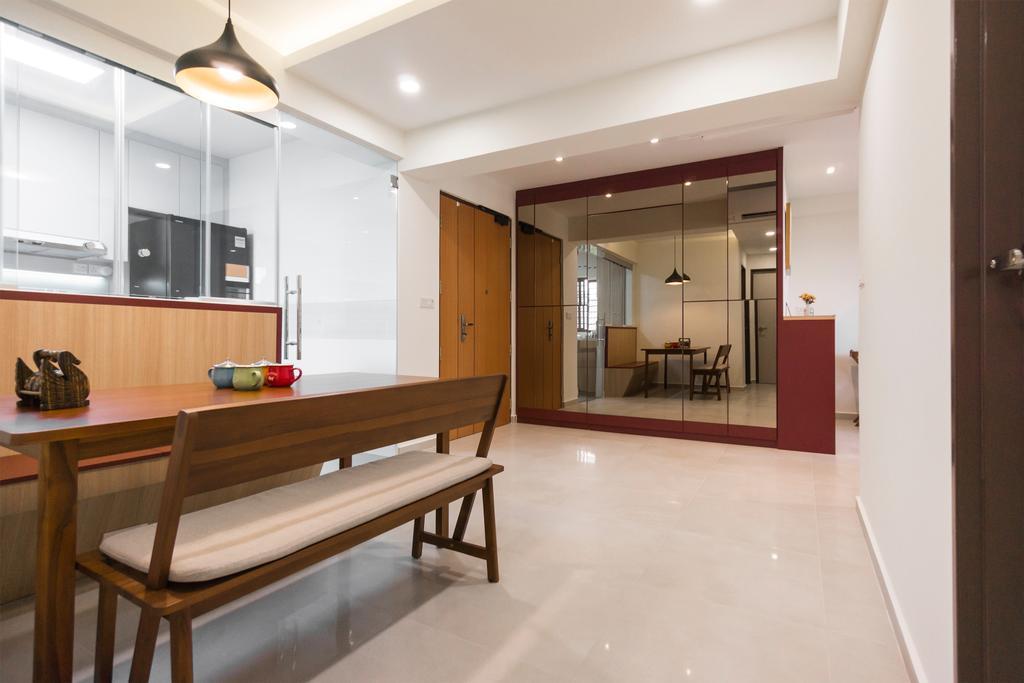 Modern, HDB, Toa Payoh East, Interior Designer, Flo Design