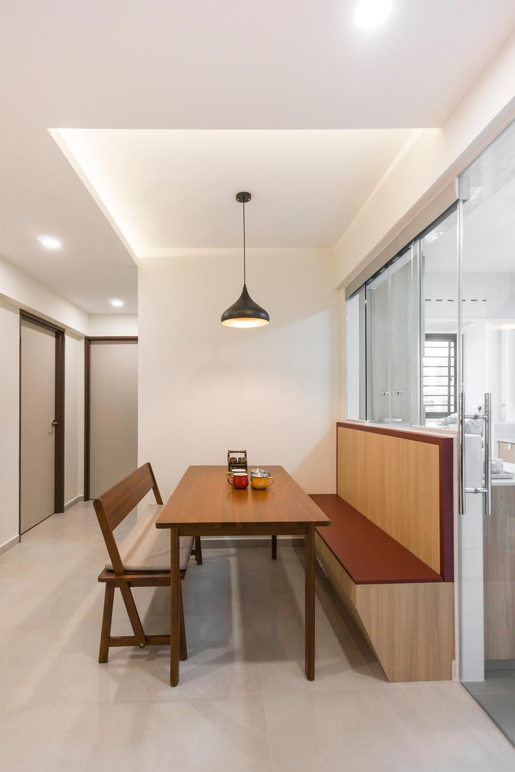 Modern, HDB, Dining Room, Toa Payoh East, Interior Designer, Flo Design