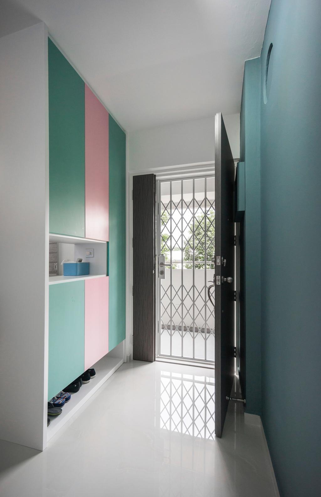 Contemporary, HDB, Living Room, Ang Mo Kio Avenue 6, Interior Designer, Flo Design