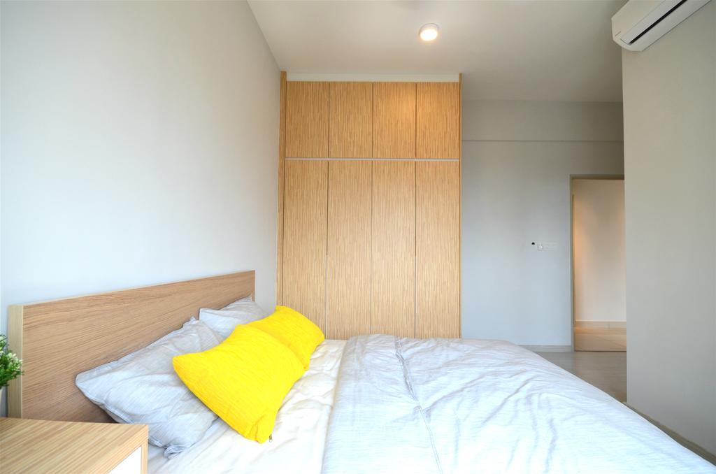Scandinavian, Condo, Bedroom, The Haute. Dato Keramat, Interior Designer, Anwill Design Sdn Bhd