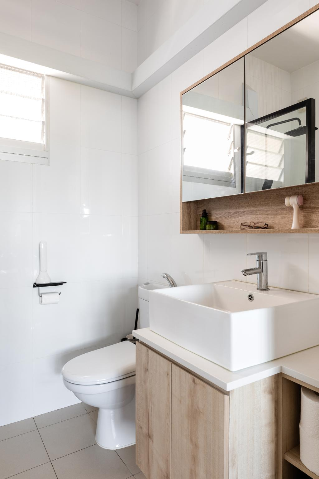 Contemporary, HDB, Bathroom, Bukit Batok West Avenue 5, Interior Designer, Yang's Inspiration Design