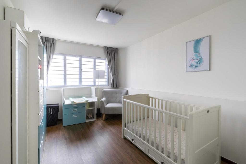 Contemporary, HDB, Study, Jurong East Street 13, Interior Designer, Klein Interiors