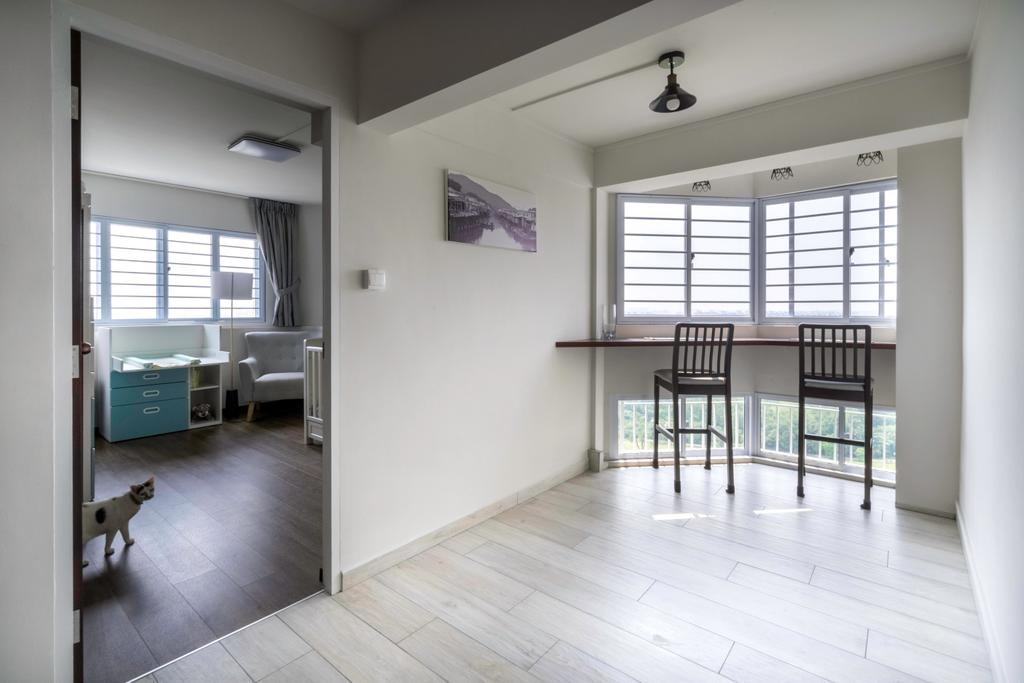 Contemporary, HDB, Dining Room, Jurong East Street 13, Interior Designer, Klein Interiors