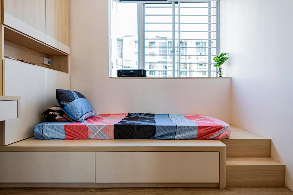 Contemporary, Condo, Bedroom, Park Green, Interior Designer, Metier Planner
