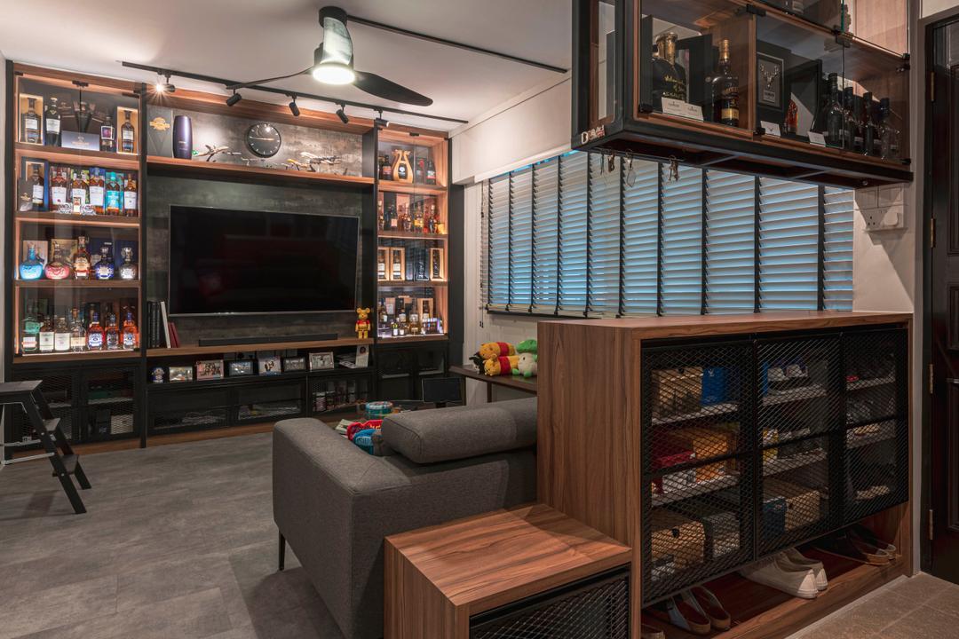 Pine Close Living Room Interior Design 10