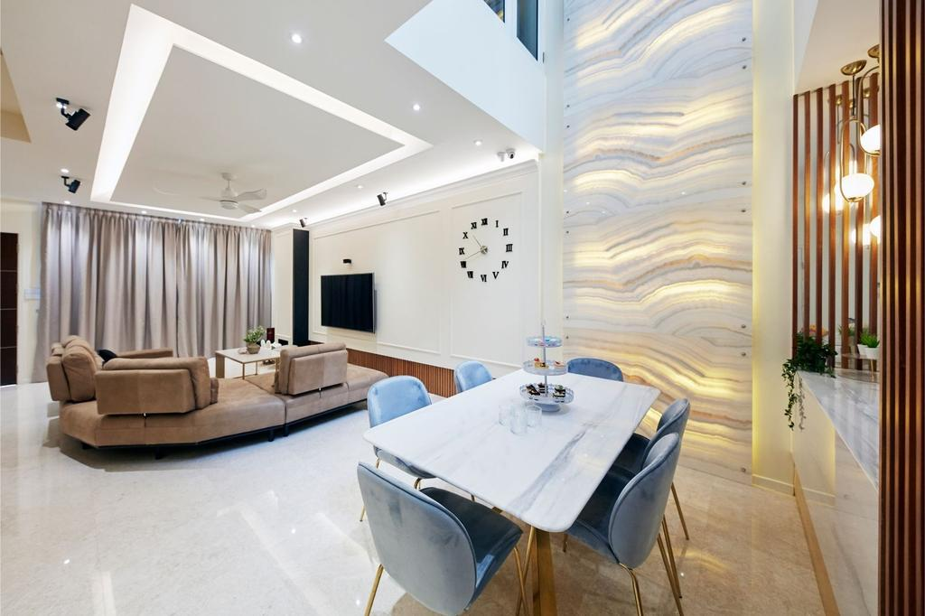 Contemporary, Landed, Living Room, Pavilion Circle, Interior Designer, Carpenters 匠