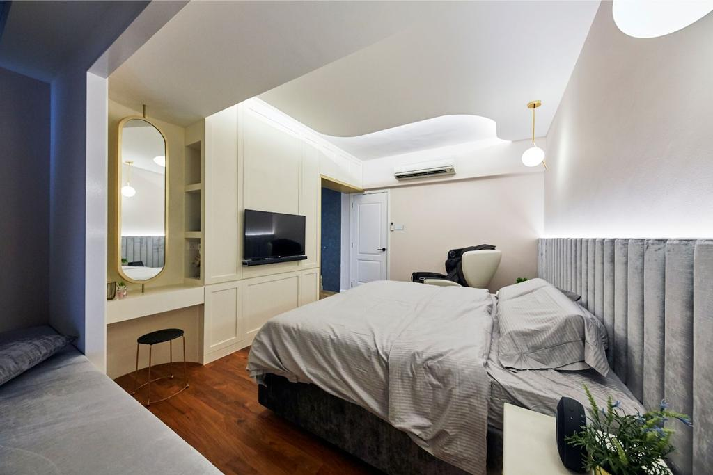 Contemporary, Landed, Bedroom, Pavilion Circle, Interior Designer, Carpenters 匠