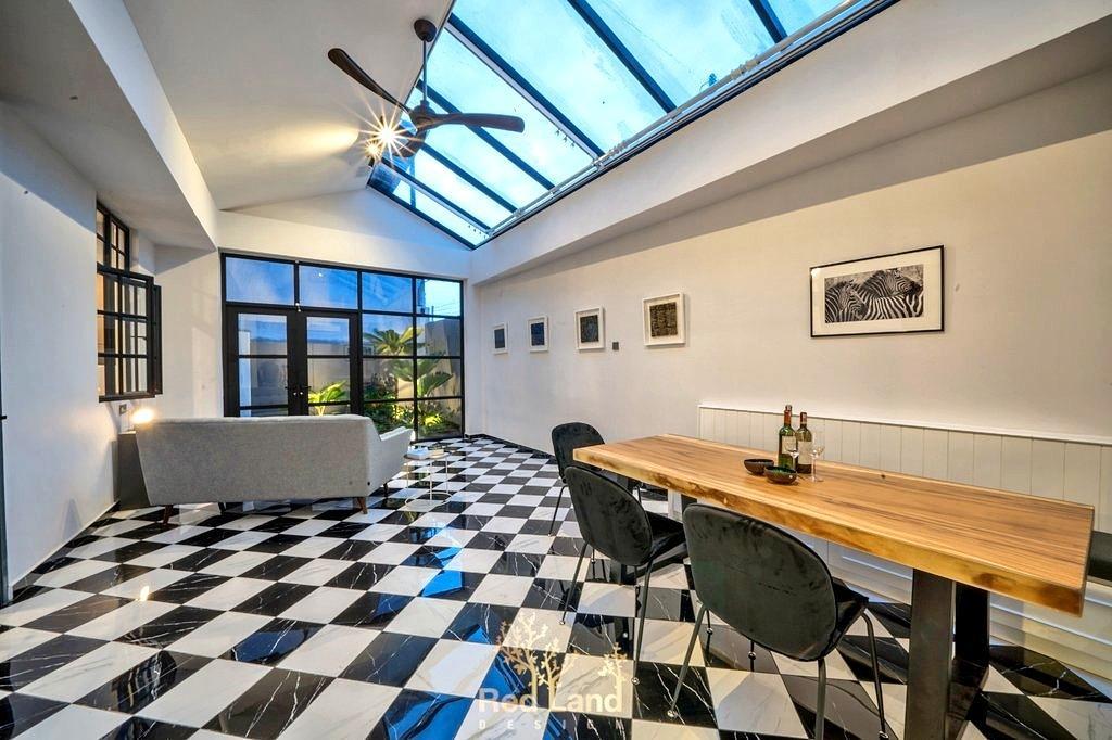 Eclectic, Landed, Dining Room, Golf View Residence, Perak, Interior Designer, Red Land Design