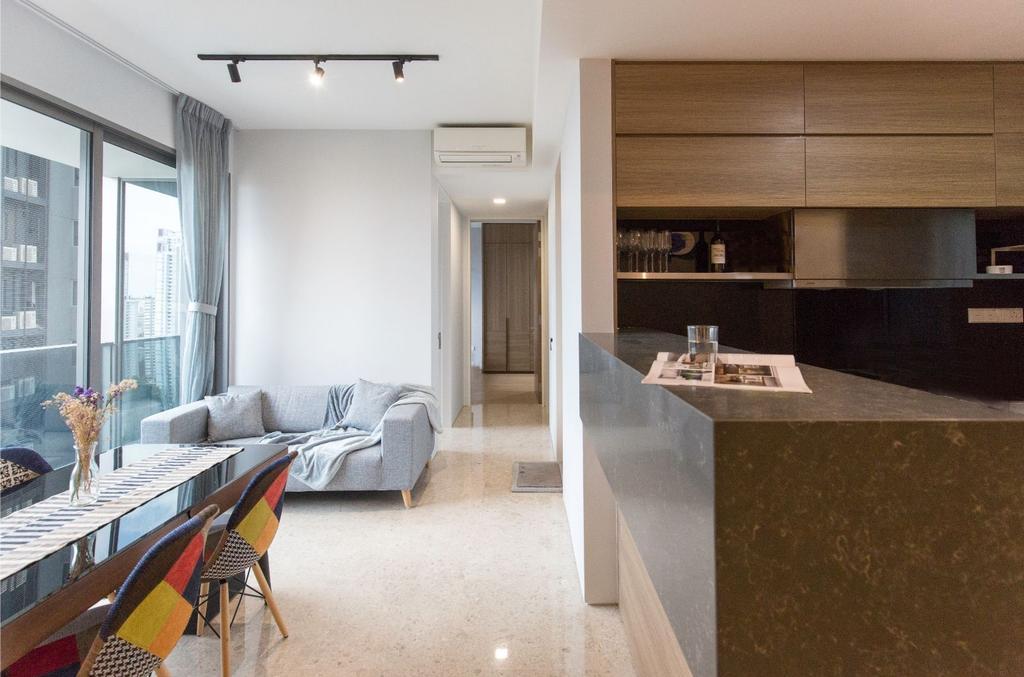 Contemporary, Condo, Kitchen, Echelon, Interior Designer, Carpenters 匠