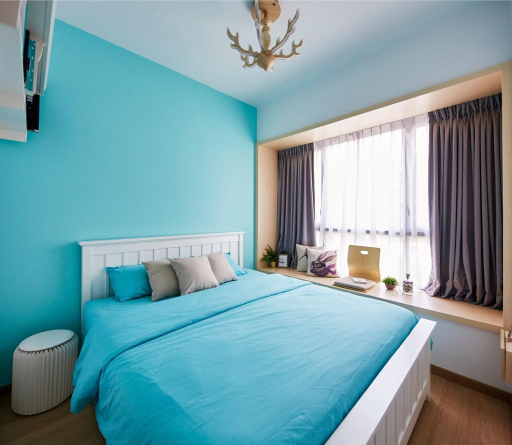 Contemporary, Condo, Bedroom, Coco Palms, Interior Designer, Carpenters 匠