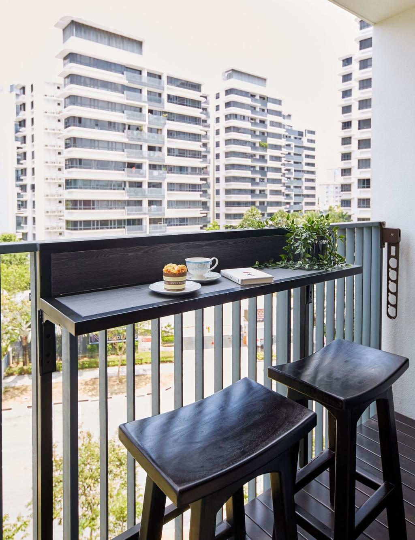 Contemporary, Condo, Balcony, Coco Palms, Interior Designer, Carpenters 匠